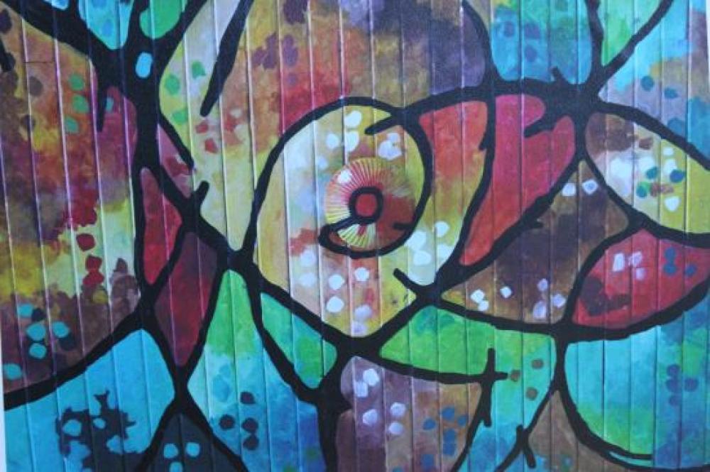 Graffiti sur un mur du Costa Rica