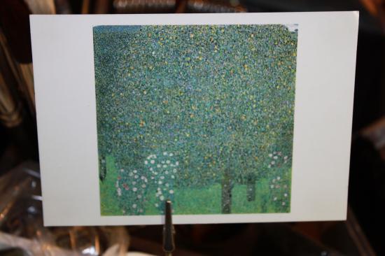 """""""Rosiers sous les arbres"""" de Klimt"""